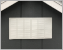 Wood Gable Vent